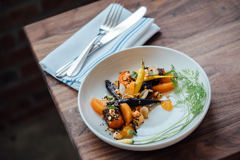 image: healthy meal plate of veggies