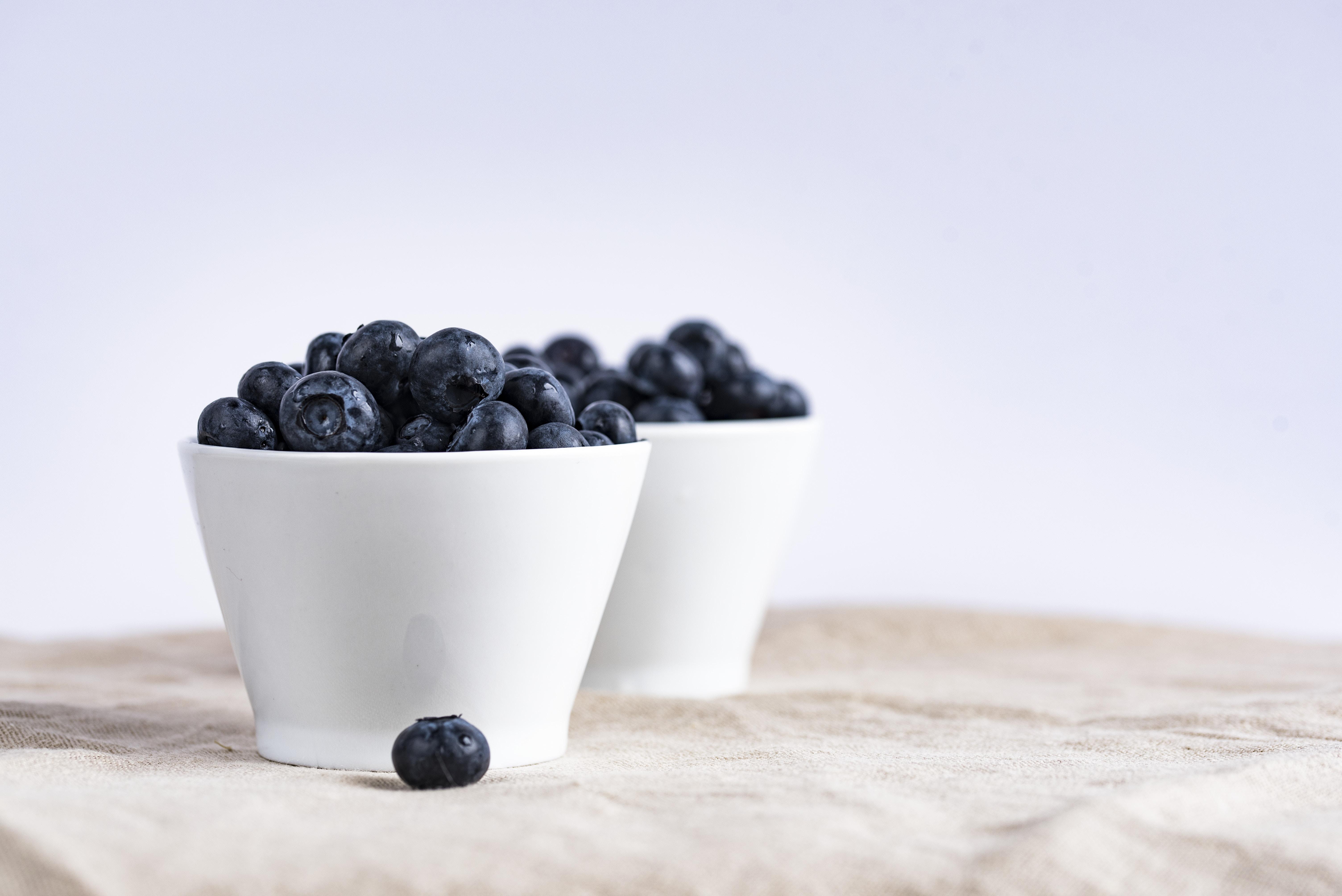 image: blueberry bowl