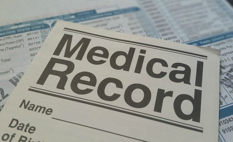image: medical records