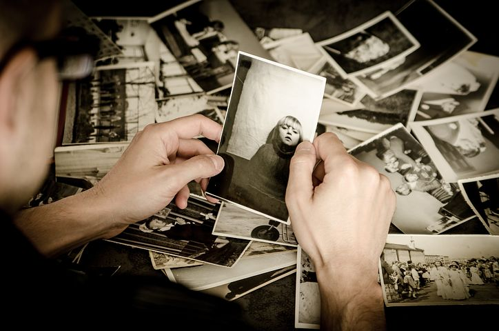 image: Old photographs sorting